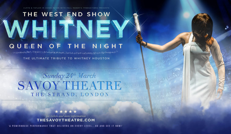 ae28303407d Whitney – Queen Of The Night - West End Premiere - Cuffe & Taylor